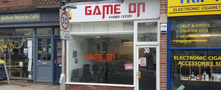 Game On Shop Front